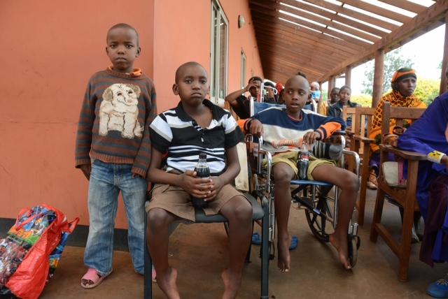 Young boys from Mtu wa Mbu