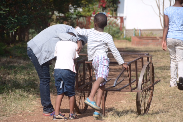 Playtime at Rift Valley Children's Village