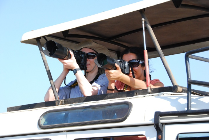 Christyn and Payal - Safari photographers at large