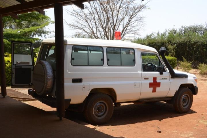 A Tanzanian Ambulance!