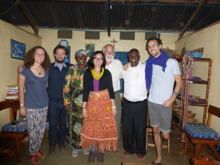 From Left - Pauline, Fima, Elizabeth Tewa, Thu, Me, Daniel Tewa, Brad