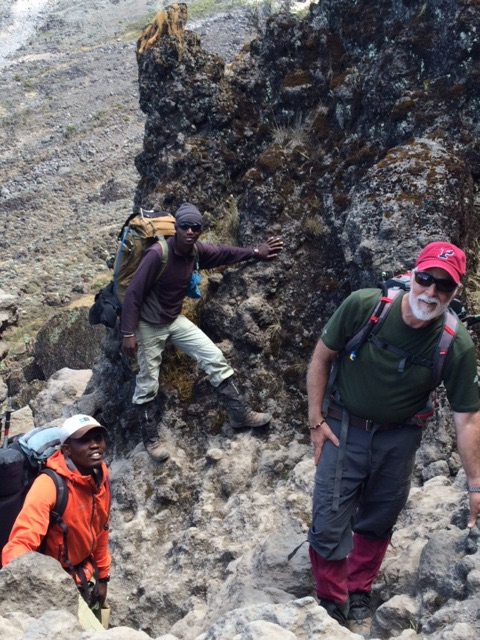 A Saner Moment on the Barranco Wall