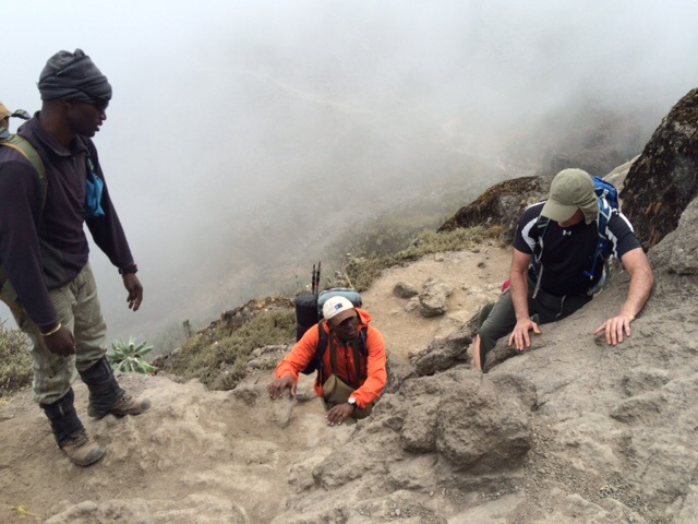 Up and Over the Barranco Wall
