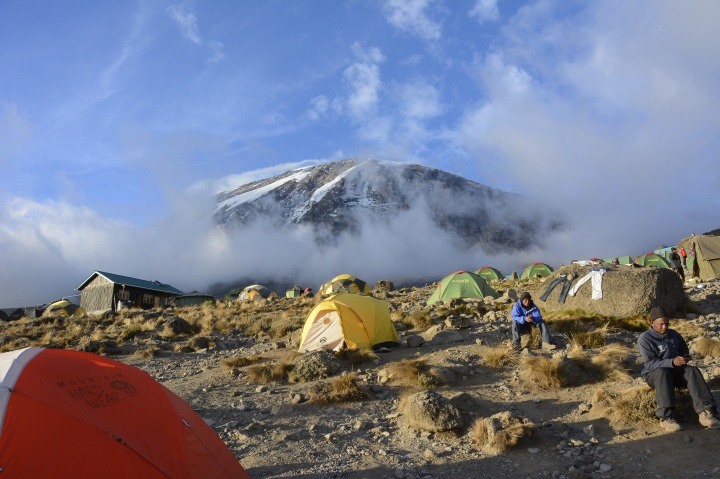 The Mountain from Karanga Camp