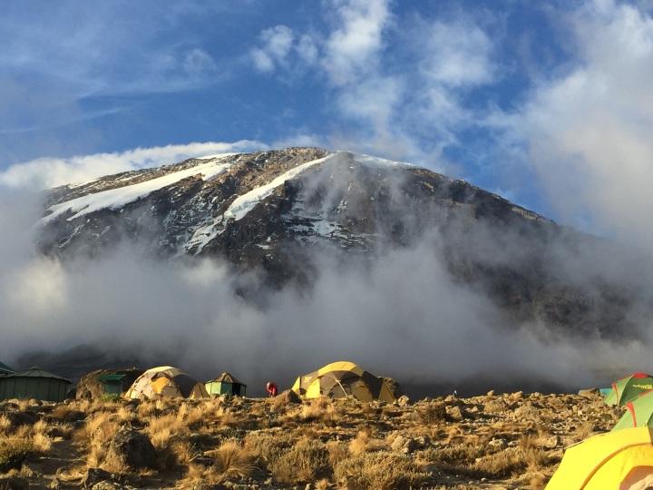 The Mountain from Karanga Camp
