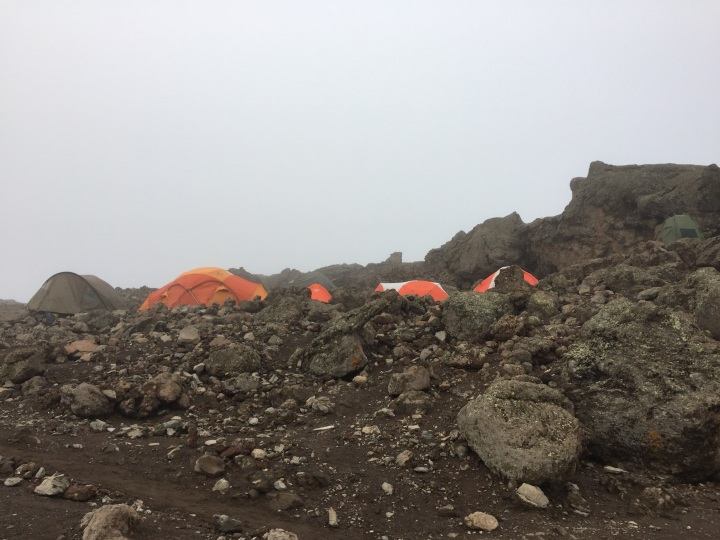 A Rocky Outpost - Barafu Base Camp
