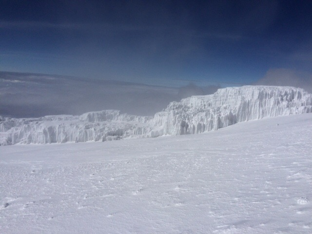 Glacier After the Summit