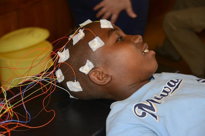 A very compliant EEG patient No. 2