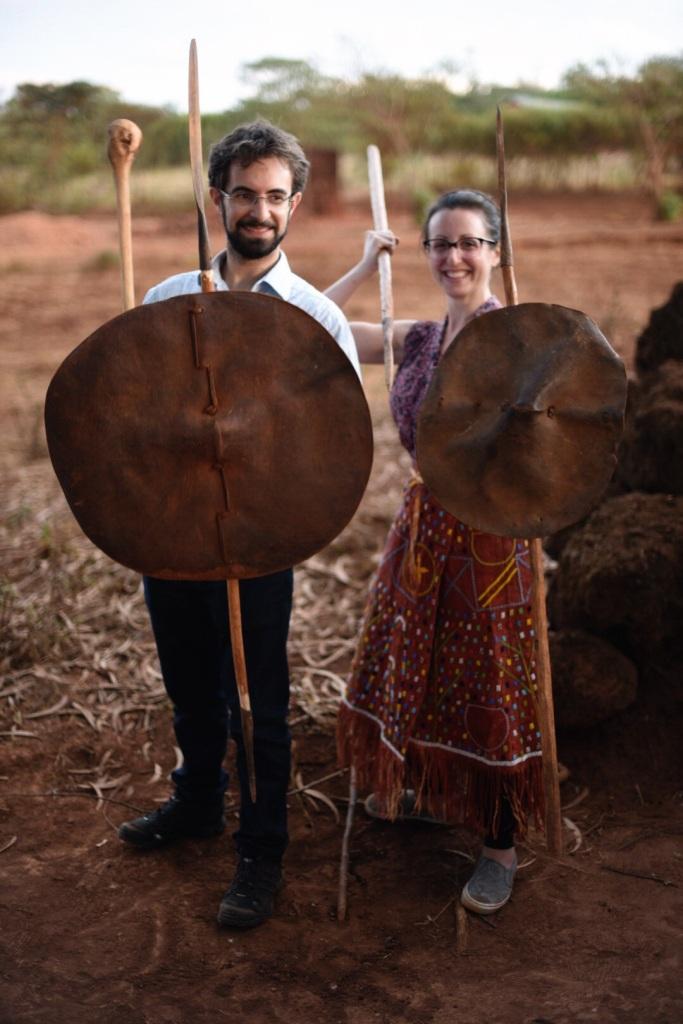"Ali and Fima - ""Tanzanian Gothic"""