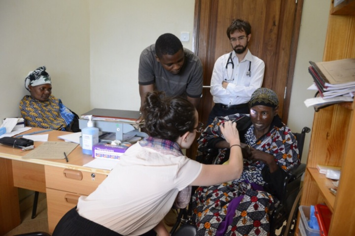 Ali, Fima, Sikonya, and Our Stroke Patient