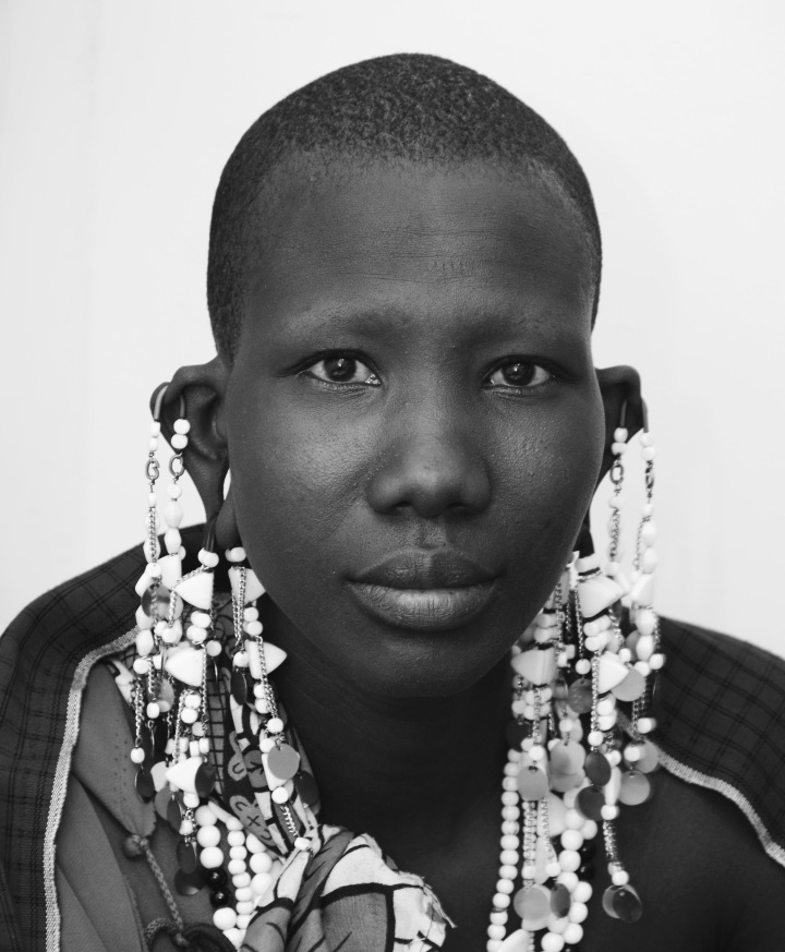 A young Maasai woman with epilepsy