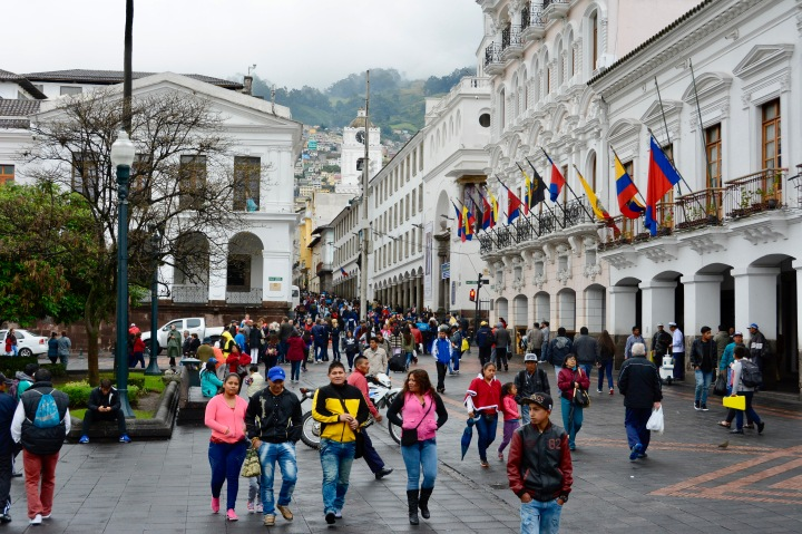 Old City Square, Quito