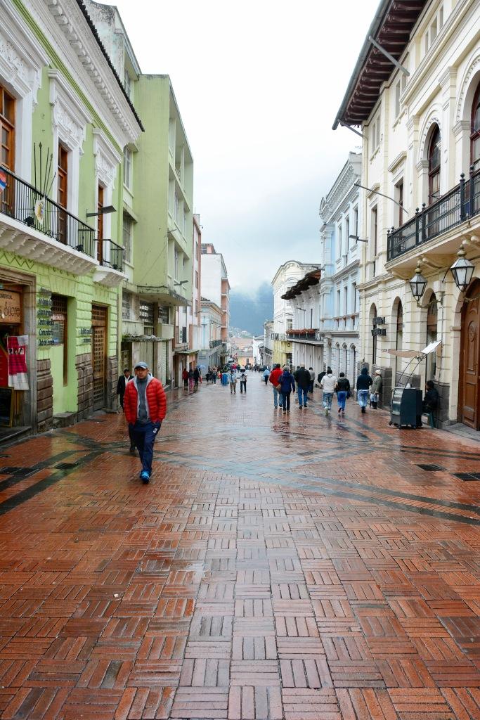 A street scene in Old City