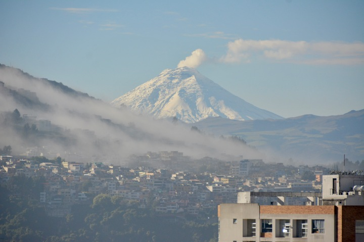 A Close-up of Cotopaxi