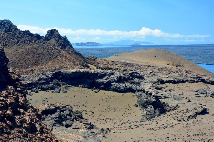 Volcanic Bartolome Island